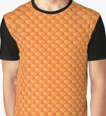 Scalemail Orange Graphic T-Shirt