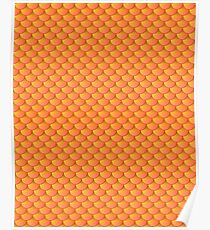 Scalemail Orange Poster