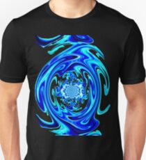 Blue Liquid-Tee Unisex T-Shirt