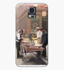 Clam seller on Mulberry Bend, New York, ca 1900 Case/Skin for Samsung Galaxy