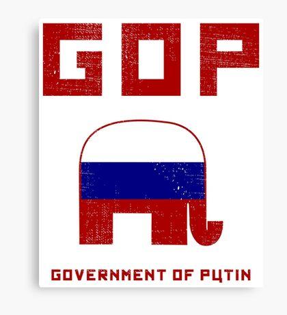 GOP Government of Putin Canvas Print
