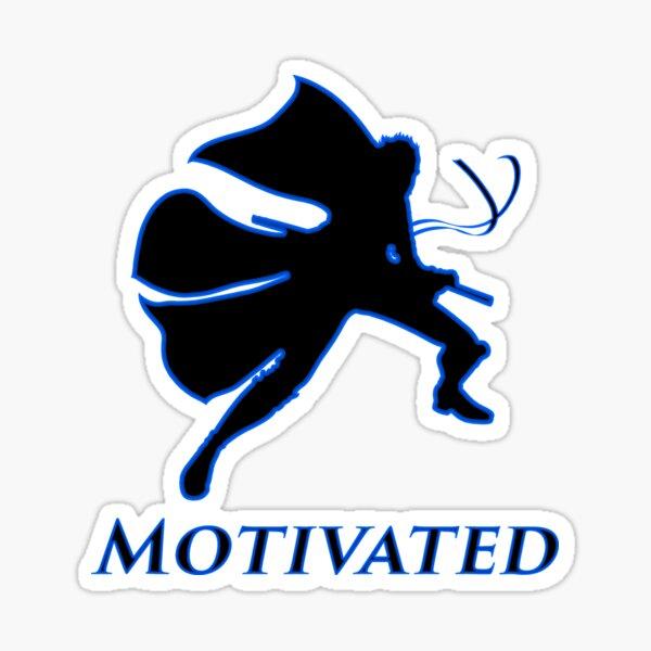Virgil Motivated Black Shirt - Devil May Cry Sticker