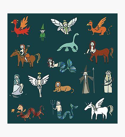 Créatures Impression photo