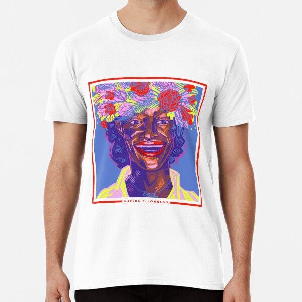 DrawingPride No.6: Marsha P. Johnson Premium T-Shirt