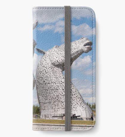 The Kelpies, Helix Park , Scotland iPhone Wallet