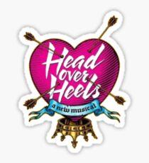 head over heels logo Sticker