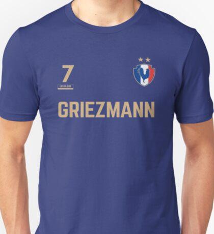 Antoine Griezmann 7 • World Cup Shirt ID G-3 T-Shirt