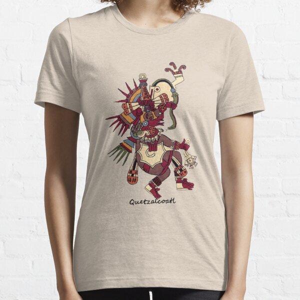 Aztec Art: Quetzalcoatl Essential T-Shirt