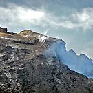 Mt. Etna (venting her temper) ! by Nancy Richard