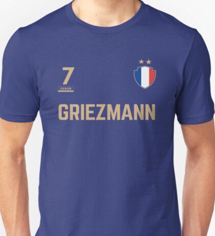 Antoine Griezmann 7 • World Cup Shirt ID G-2 T-Shirt