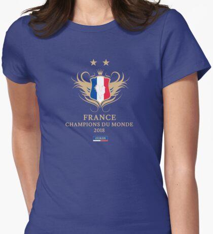 France Champion Du Monde 2018 • Les Bleus • Football World Cup Champion 2018 ID 9-3 T-Shirt