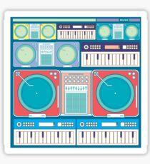 music composition Sticker