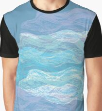 Clouds original abstract pattern Graphic T-Shirt