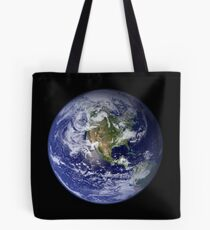 the earth seen from space Tote Bag