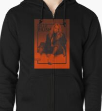 BILLIE EILISH DESIGN Zipped Hoodie