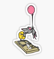 Smarty Mouse Sticker