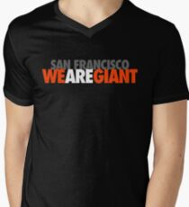 We Are Giant Mens V-Neck T-Shirt