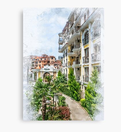 Bulgaria city 6 #bulgaria #sunnybeach Canvas Print