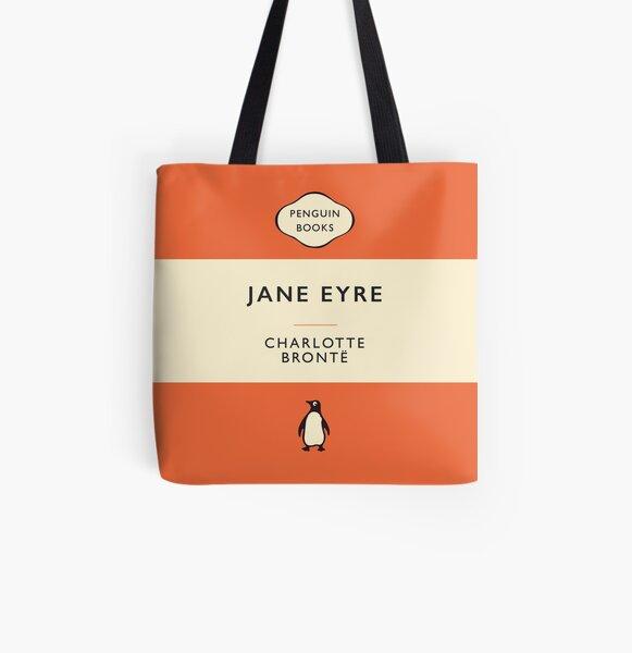 Penguin Classics Jane Eyre All Over Print Tote Bag