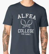 Alfea (Distressed) Men's Premium T-Shirt