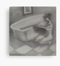 Warm Bath Canvas Print