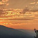 Sunset skies in the Okanagan by JOSEPHMAZZUCCO