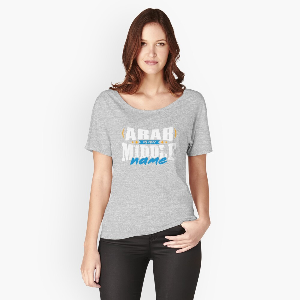 ARAB 01 Relaxed Fit T-Shirt