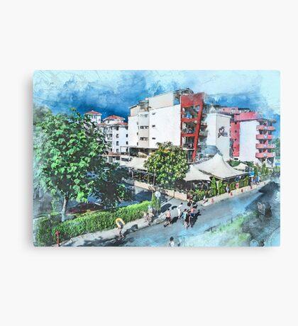 Bulgaria city 7 #bulgaria #sunnybeach Canvas Print