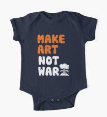 Make Art Not War One Piece - Short Sleeve