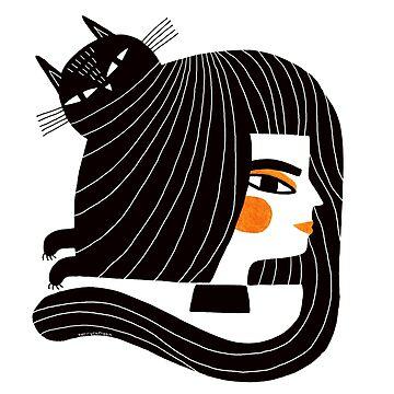 CAT HAIR by terryrunyan