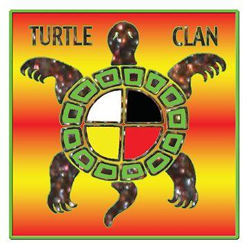 Turtle Clan Medicine Wheel by Nativeexpress
