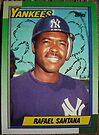 417 - Rafael Santana by Foob's Baseball Cards