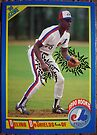 418 - Delino DeShields by Foob's Baseball Cards