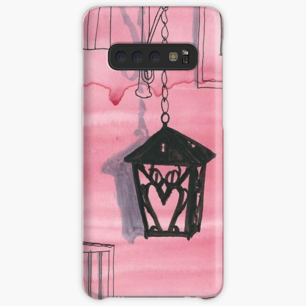 Bryn Mawr Red Owl Case & Skin for Samsung Galaxy
