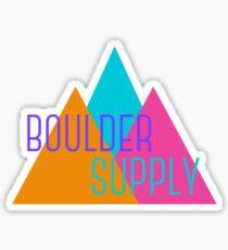 Boulder Supply 90's Sticker