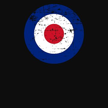 Royal British Airforce Roundel by McThriftees