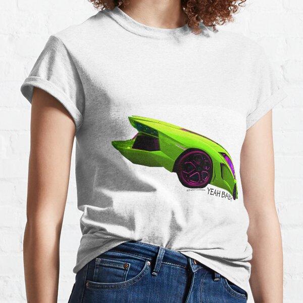 Super Car Art - Yeah Baby Classic T-Shirt