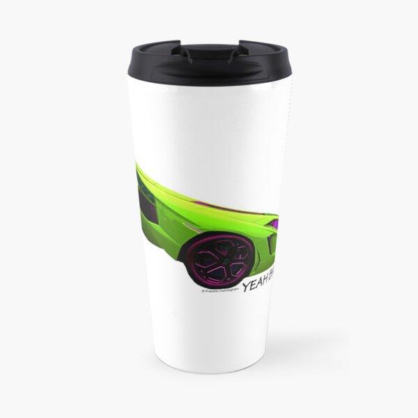 Super Car Art - Yeah Baby Travel Mug
