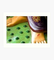 Barefoot Goddess Art Print