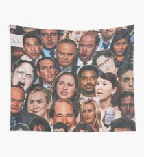 The Office Collage Wall Tapestry