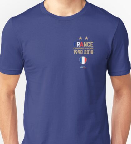 France Champion Du Monde 2018 • Les Bleus • Football World Cup Champion 2018 ID 4-1 T-Shirt