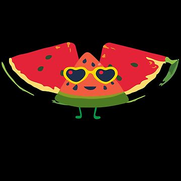 Summer Watermelon Fun Shirt by icedrum