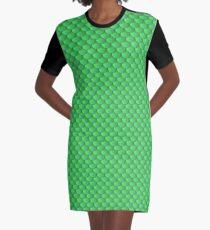 Scalemail Green Graphic T-Shirt Dress