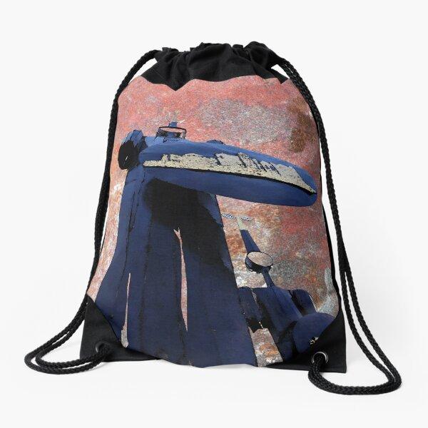 Blue Guardians Drawstring Bag