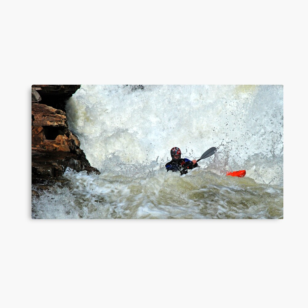 adrenaline water Canvas Print