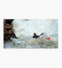 adrenaline water Photographic Print