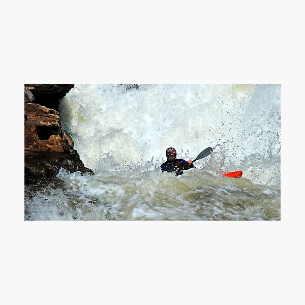 adrenaline water Photographic Print