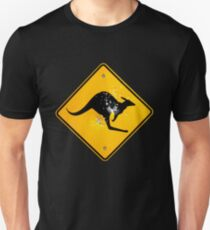 Kangaroo road sign T-Shirt