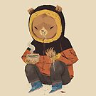 noodle bear by louros