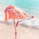 Do Not Disturb, Pink Flamingo, Blue Ocean by Southern  Departure